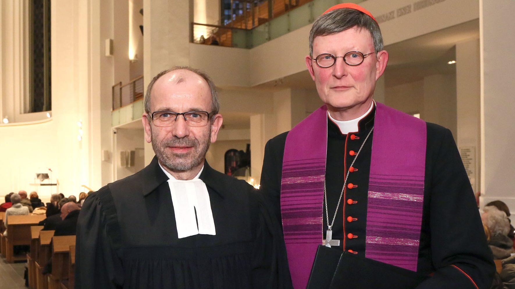Rekowski und Woelki rufen in Köln zu Solidarität und Mitgefühl in Corona-Krise auf