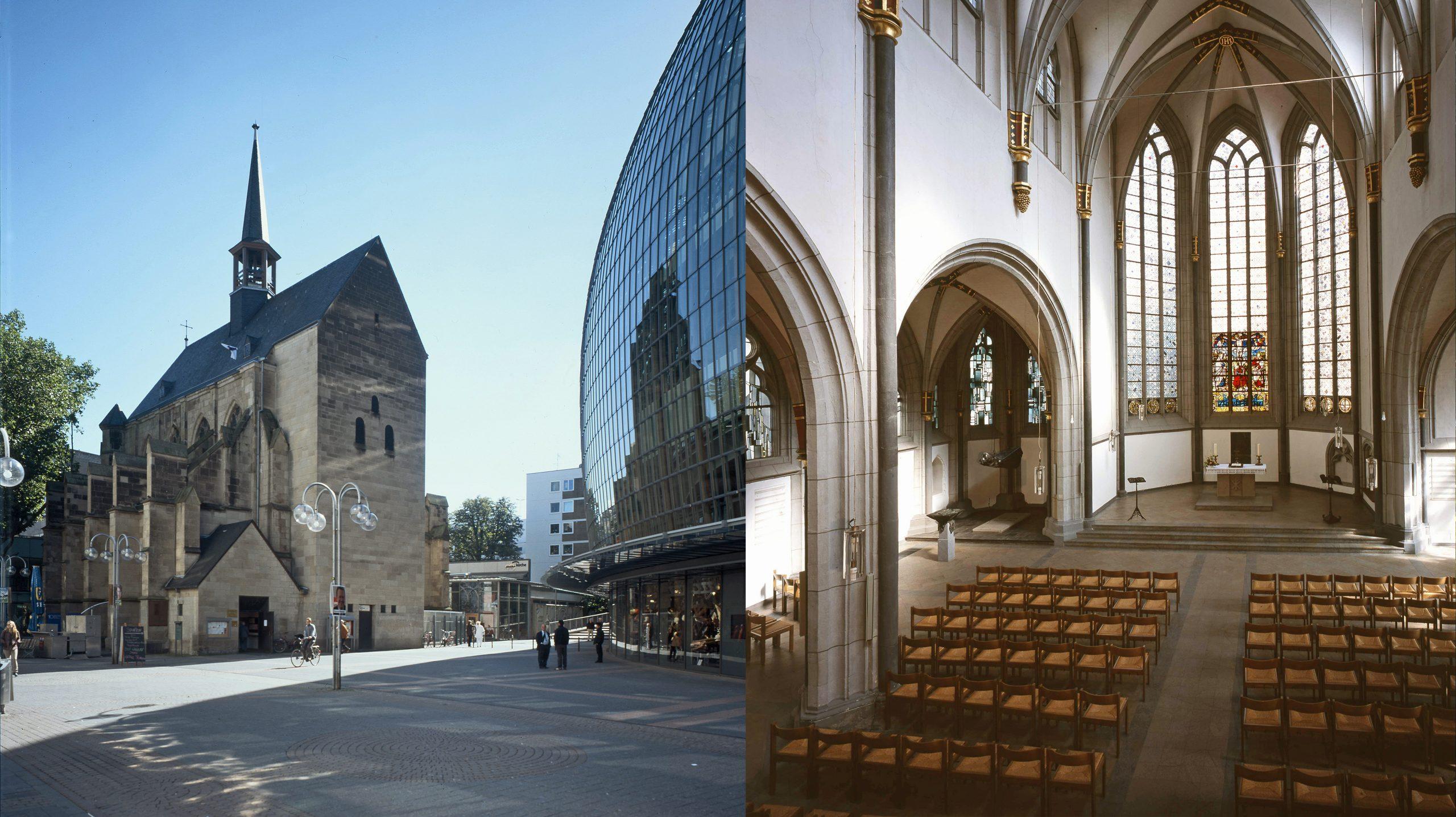 Auf Städtetour zu den Citykirchen der rheinischen Kirche – Station: Antoniterkirche